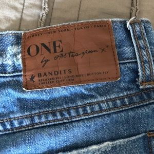 Free People Shorts - Free People High Waisted Denim Shorts